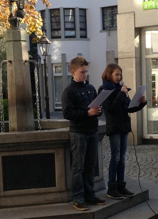 Gedenken an das Novemberpogrom 1938 in der Kölner Jawne