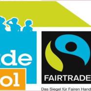 Faire Snacks an der ersten Fair Trade School: Einweihung des Eine-Welt-Kiosk