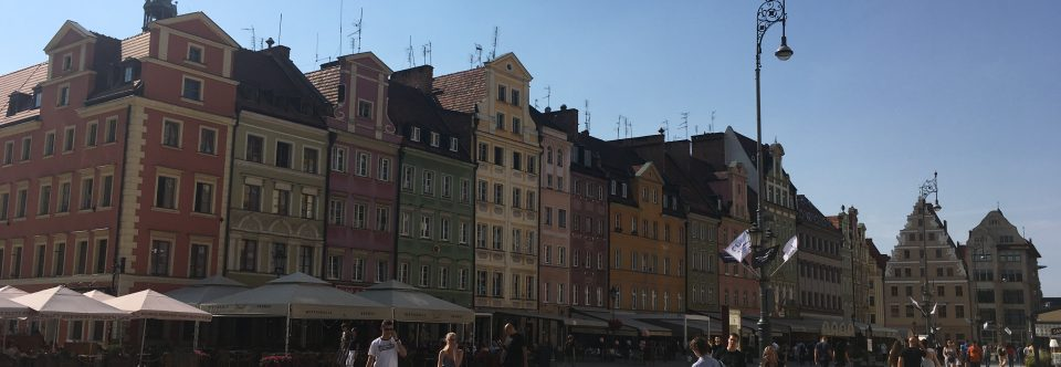 Schüleraustausch in Wroclaw 16.09.-21.09.2018