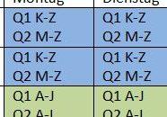 Wechselunterricht für die Jahrgänge 10, Q1 und Q2 ab 22.02.2021