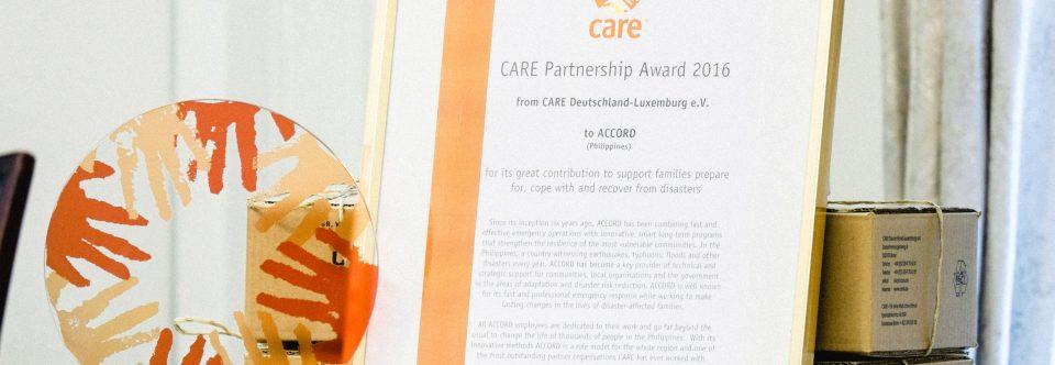 10 Jahre Zusammenarbeit mit Care